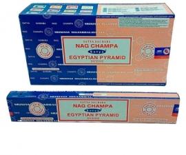 Sahumerios Satya Combo Nag Ch + Egyp Pyram 16 G